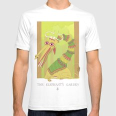 The Elephant's Garden - The Perpetual Glibb Mens Fitted Tee White SMALL