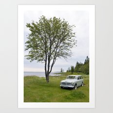 Volvo Amazon Art Print