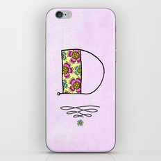 D d iPhone & iPod Skin