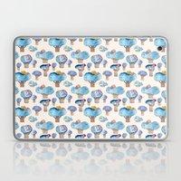 thousands of little blue trees Laptop & iPad Skin