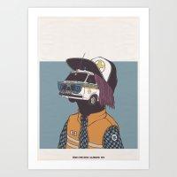 2013 - CALENDARIO CROCE … Art Print