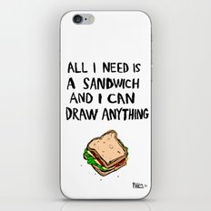All I Need Is A Sandwich iPhone & iPod Skin