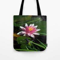 Little Water Lily  Tote Bag
