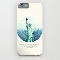 Alexis de Tocqueville Quote iPhone 6 Slim Case