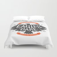 Where Eagles Dare Duvet Cover