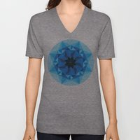 Deconstructed Diamond Unisex V-Neck