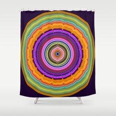 Colourful Pattern Mandala Shower Curtain