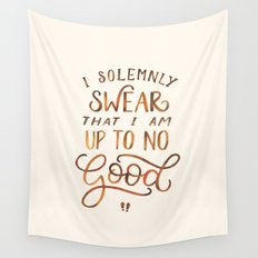 I Solemnly Swear Wall Tapestry