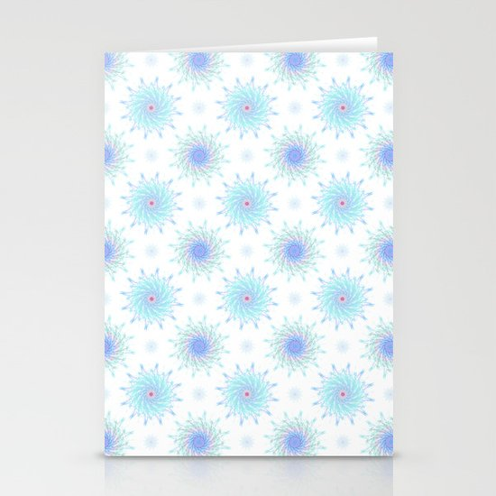 FLOWER PATTERN Stationery Card