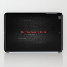 Hurt by Johnny Cash iPad Case