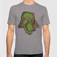 fist pump Mens Fitted Tee Athletic Grey SMALL