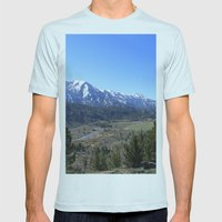 Sonora Pass Mens Fitted Tee Light Blue SMALL