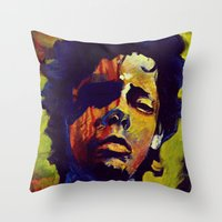 Portrait * Darren Le Gallo Throw Pillow