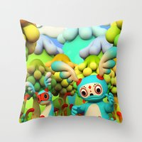 Zupo's Quest Throw Pillow