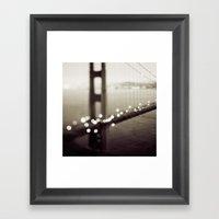 Meet Me In San Francisco… Framed Art Print