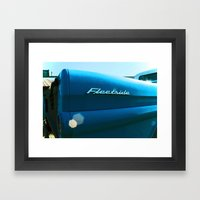 Chevy Apache Framed Art Print