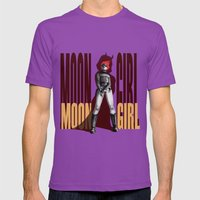 Moon Girl Epic Mens Fitted Tee Ultraviolet SMALL