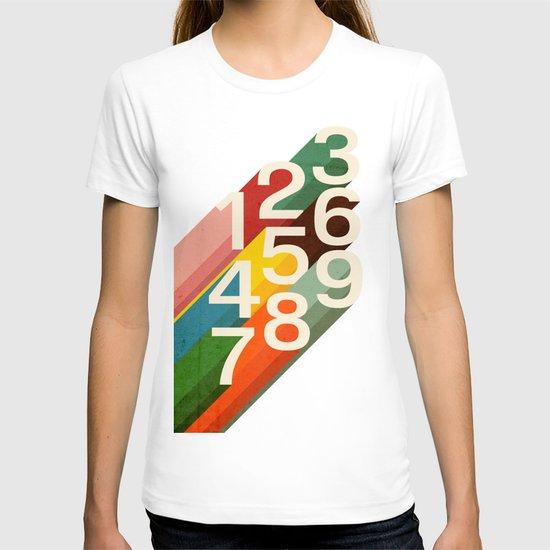 Retro Numbers T-shirt
