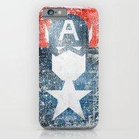 Yankee Captain grunge superhero iPhone 6 Slim Case