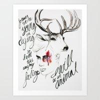 Wild Youth Art Print