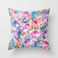 Palmtastic Throw Pillow