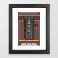 EP6 : Han Solo In Carbon… Framed Art Print