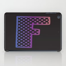 Letter F iPad Case