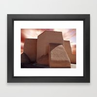 Southwest Adobe Framed Art Print