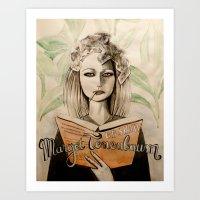Margot Tenenbaum Art Print