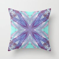 Watercolor Abstract Throw Pillow