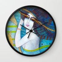 BLUE DREAMS Wall Clock
