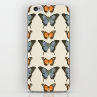 Butterfly Pattern 1 iPhone & iPod Skin