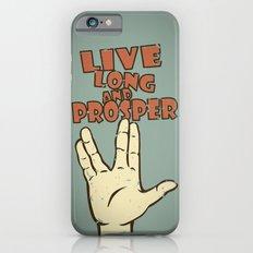 LIVE LONG AND PROSPER! - Star Trek iPhone 6s Slim Case
