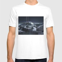 Ice City Mens Fitted Tee White SMALL