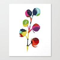 Mod Pods Canvas Print