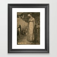 The Two Friends Framed Art Print
