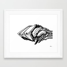 Machine object I Framed Art Print