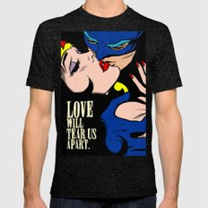 Love Vigilantes Mens Fitted Tee Tri-Black SMALL