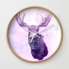 Moose Springsteen Wall Clock
