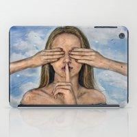 Silence in the Dark  iPad Case