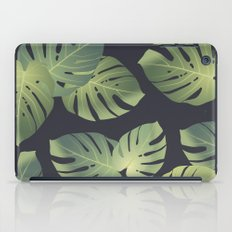 Monstera tropical leaf iPad Case