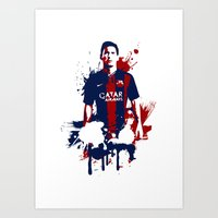 Lionel Messi Art Print