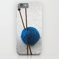 iPhone Cases featuring Yarn Ball by Liza Eckert