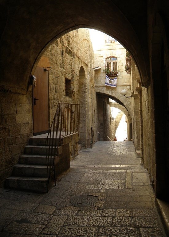 Jerusalem Archways Art Print