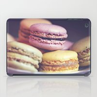 macarons on the windowsill iPad Case