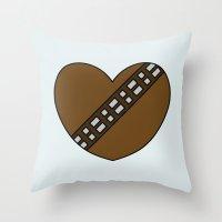 Chewbacca Character Hear… Throw Pillow