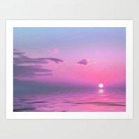 With Each Sunrise We Sta… Art Print
