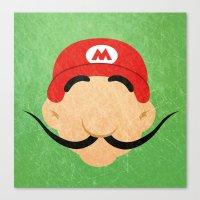 Grand Mustache Canvas Print