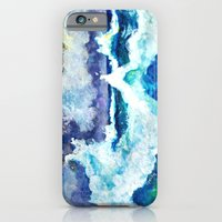iPhone & iPod Case featuring Stormy Sea by gretzky