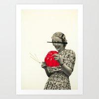 Jelly Addict Art Print